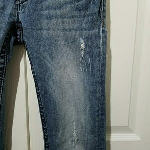 Miss Me Jeans - Miss Me Jeans JP6085P Distressed Bootcut Size 27